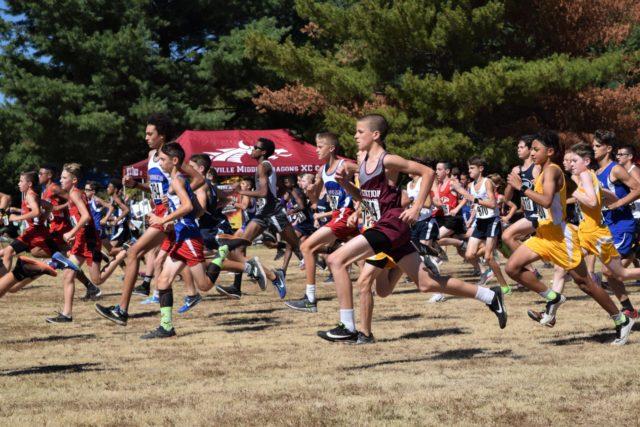 Class AA Boys' Race