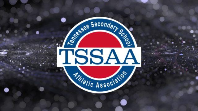 TSSAA Logo on Glitter