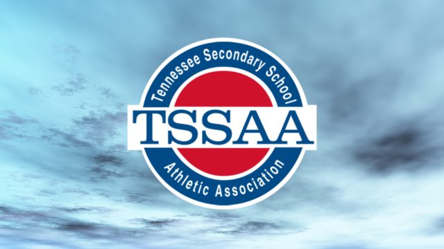 TSSAA Logo on Clouds