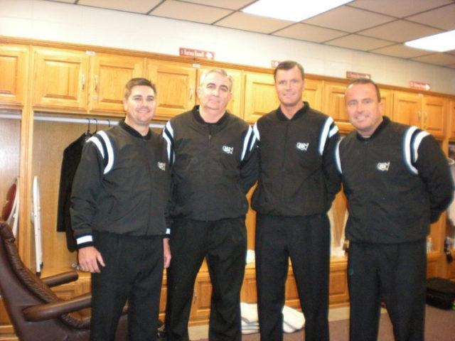 Officials in the Locker Room