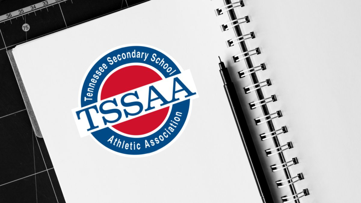 TSSAA Logo on Notepad