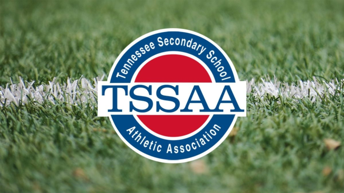 TSSAA Logo on turf