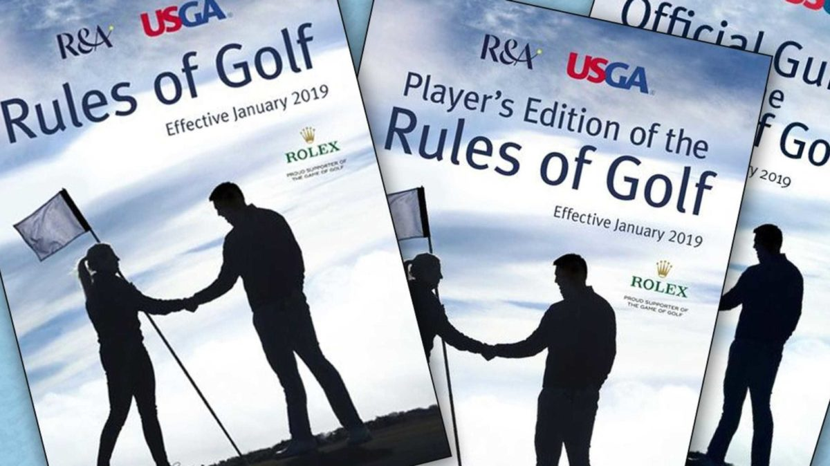 USGA rules of golf