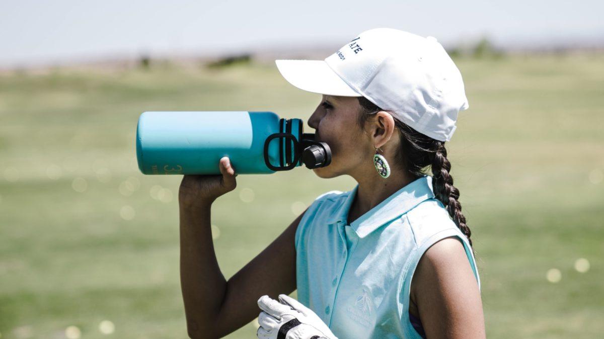 Golfer Hydrates