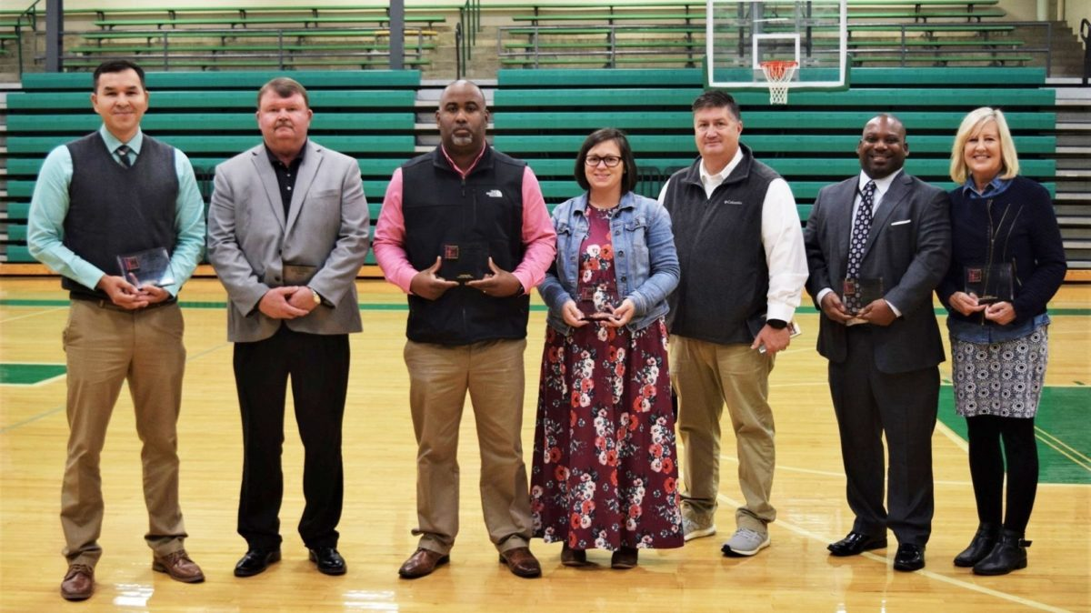 Middle Tennessee A.F. Bridges Awards Winners