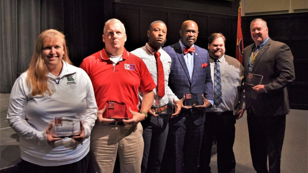 West Tennessee A.F. Bridges Awards Winners
