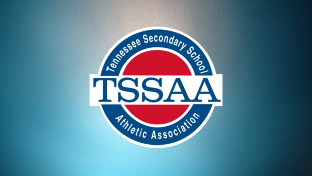TSSAA Logo on Teal Gradient