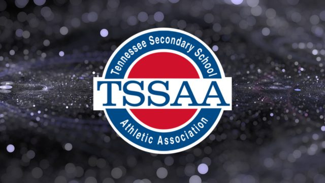 TSSAA Logo on Glitter