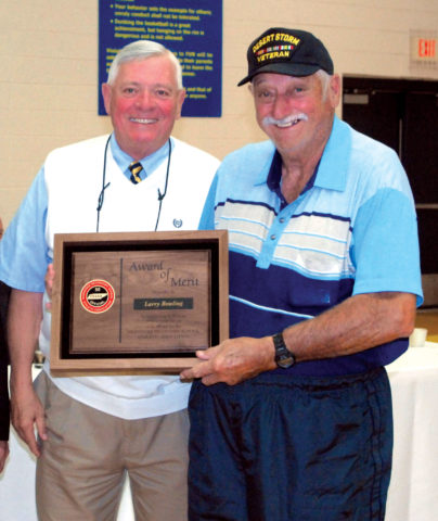Larry Bowling (right) with Lynn Griffin (Elizabethton Star)