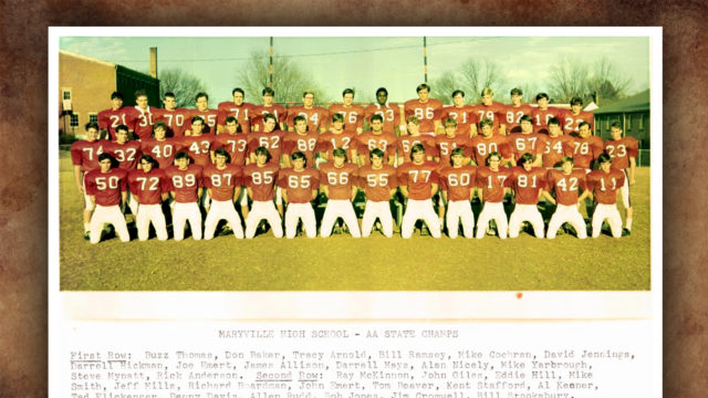 Maryville Football 1970