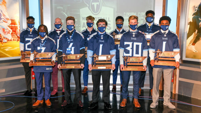 Mr. Football Award Winners 2020