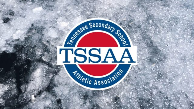 TSSAA Logo on Stone