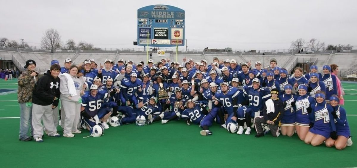 2005 Class 3A State Champions - Livingston Academy