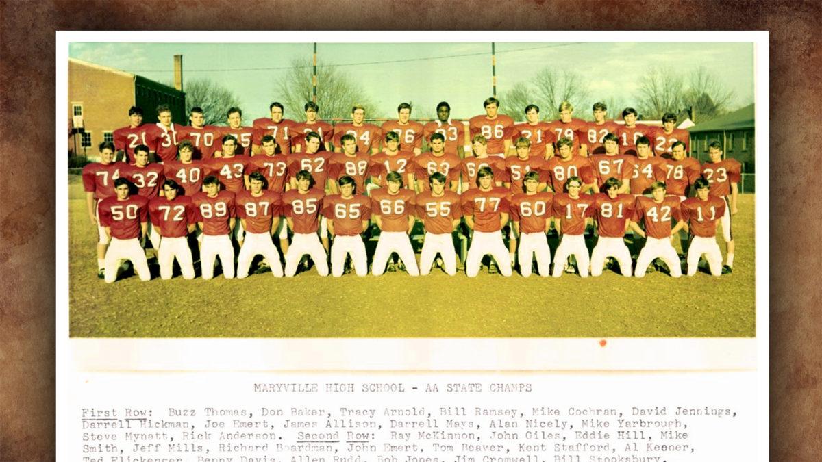 Maryville Football 1970