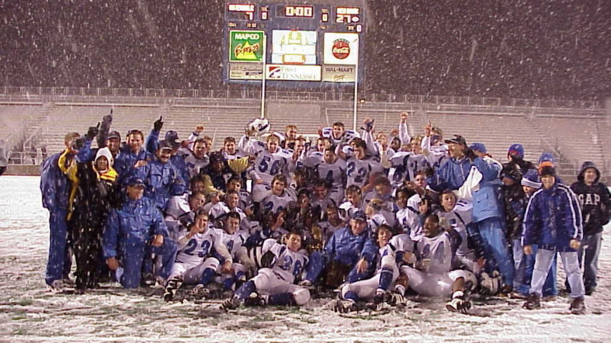 2000 Class 5A State Champions - Red Bank High School