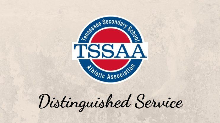 TSSAA Logo on Teal Gradient