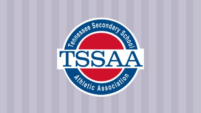 TSSAA Logo on Background