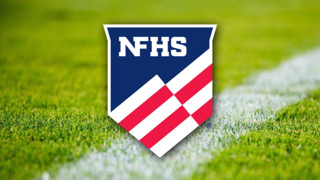 NFHS Logo on grass