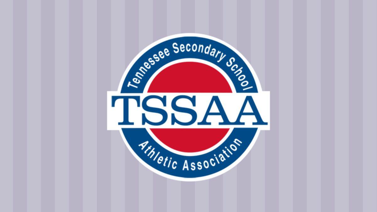 TSSAA Logo on Background